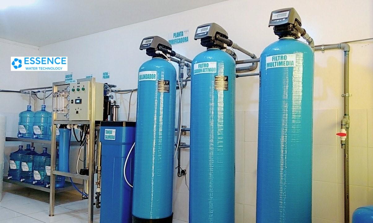 planta de agua purificada essence ingenieria