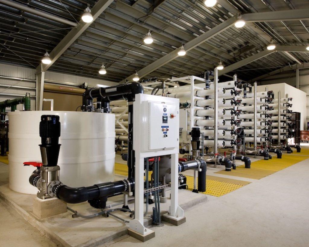 planta de ósmosis industrial