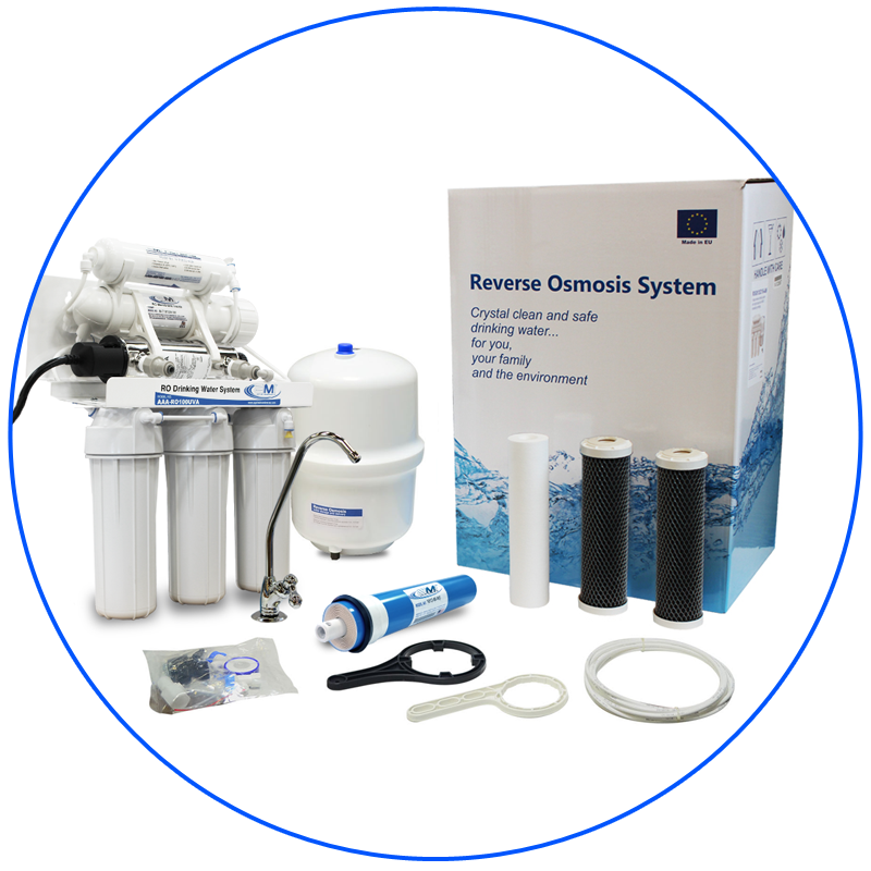 Sistema de ósmosis inverasa para casa
