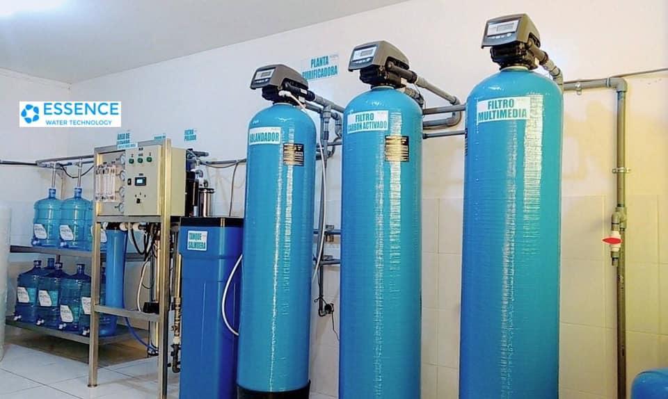 planta de agua osmosis inversa
